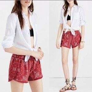 Madewell Oahu Cotton Shorts